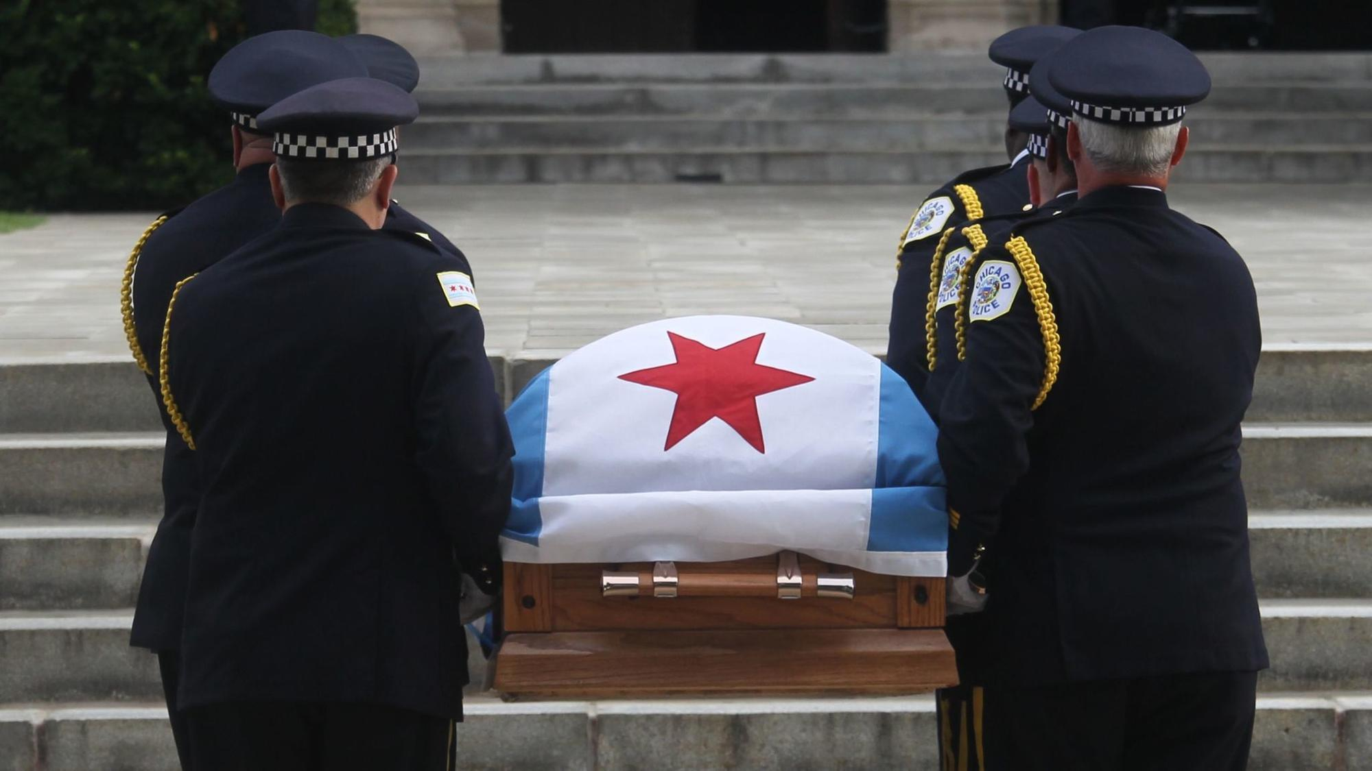 for the fallen cmdr bauer chicago prepares for a somber ritual