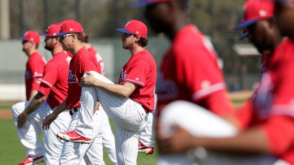 c04634a69 Who is in spring training camp for Phillies as first full squad workouts  begin Monday? - The Morning Call