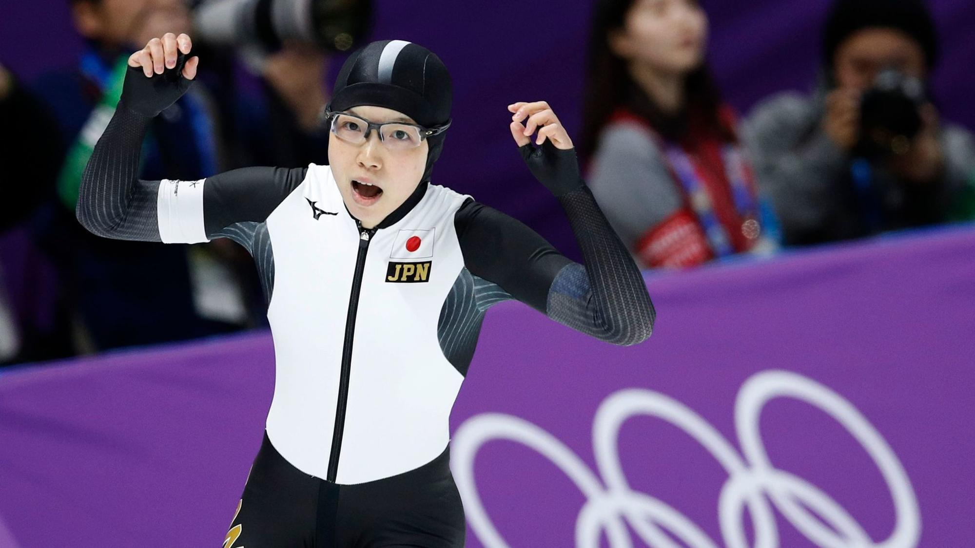 0a4139e8ccb Japan s Nao Kodaira wins 500-meter speedskating gold over South Korea s Lee  Sang-hwa - Chicago Tribune