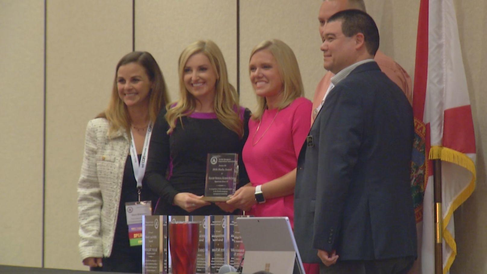 news 13 meteorologists honored for emergency preparedness