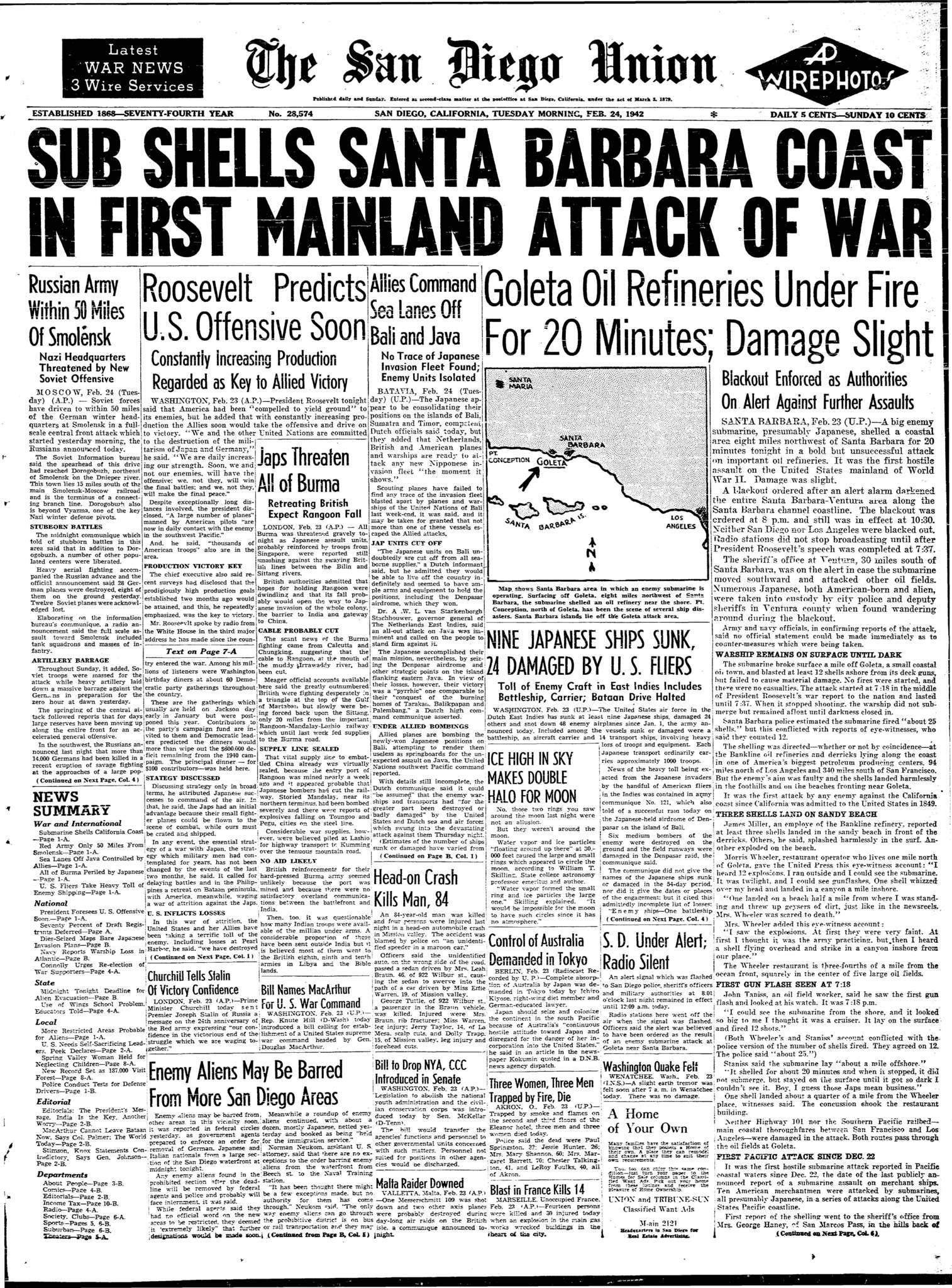 February 24, 1942