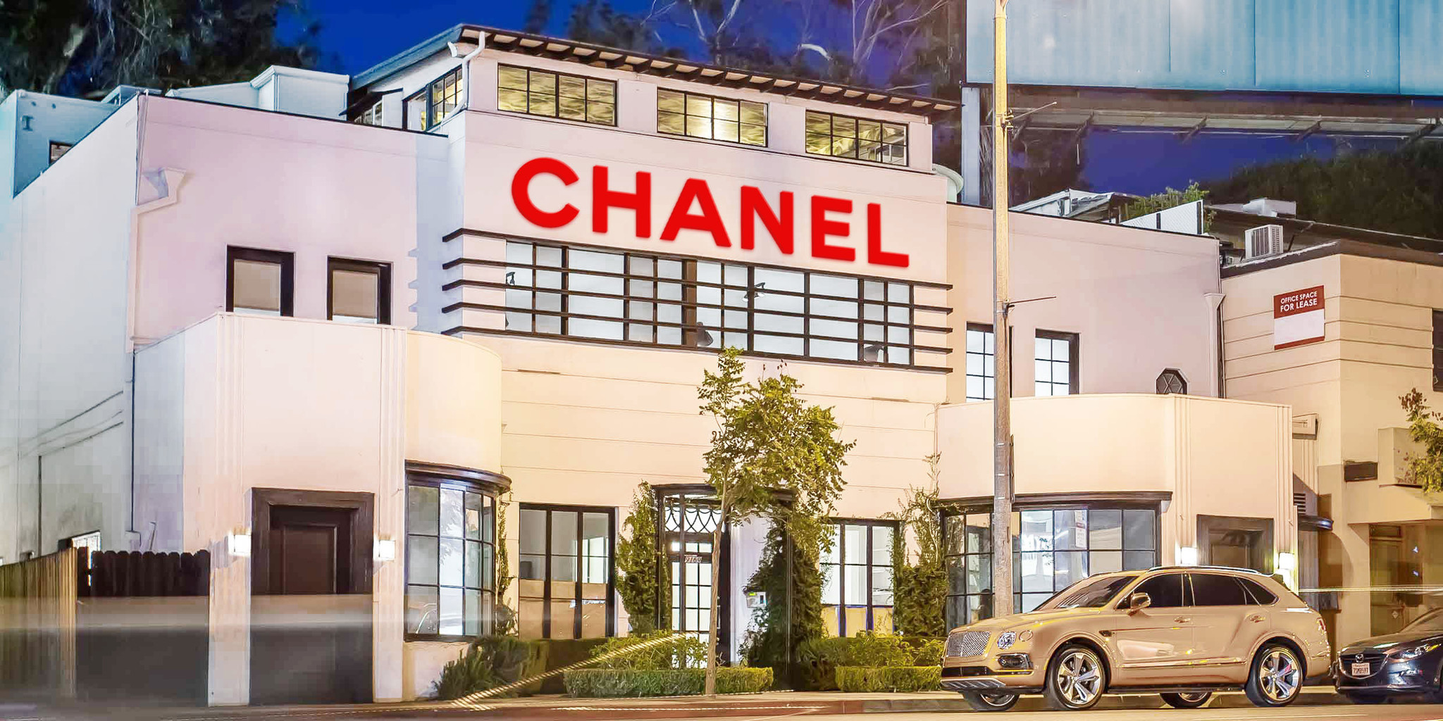 A rendering of Chanel beauty house pop up in West Hollywood. Credit: Chanel