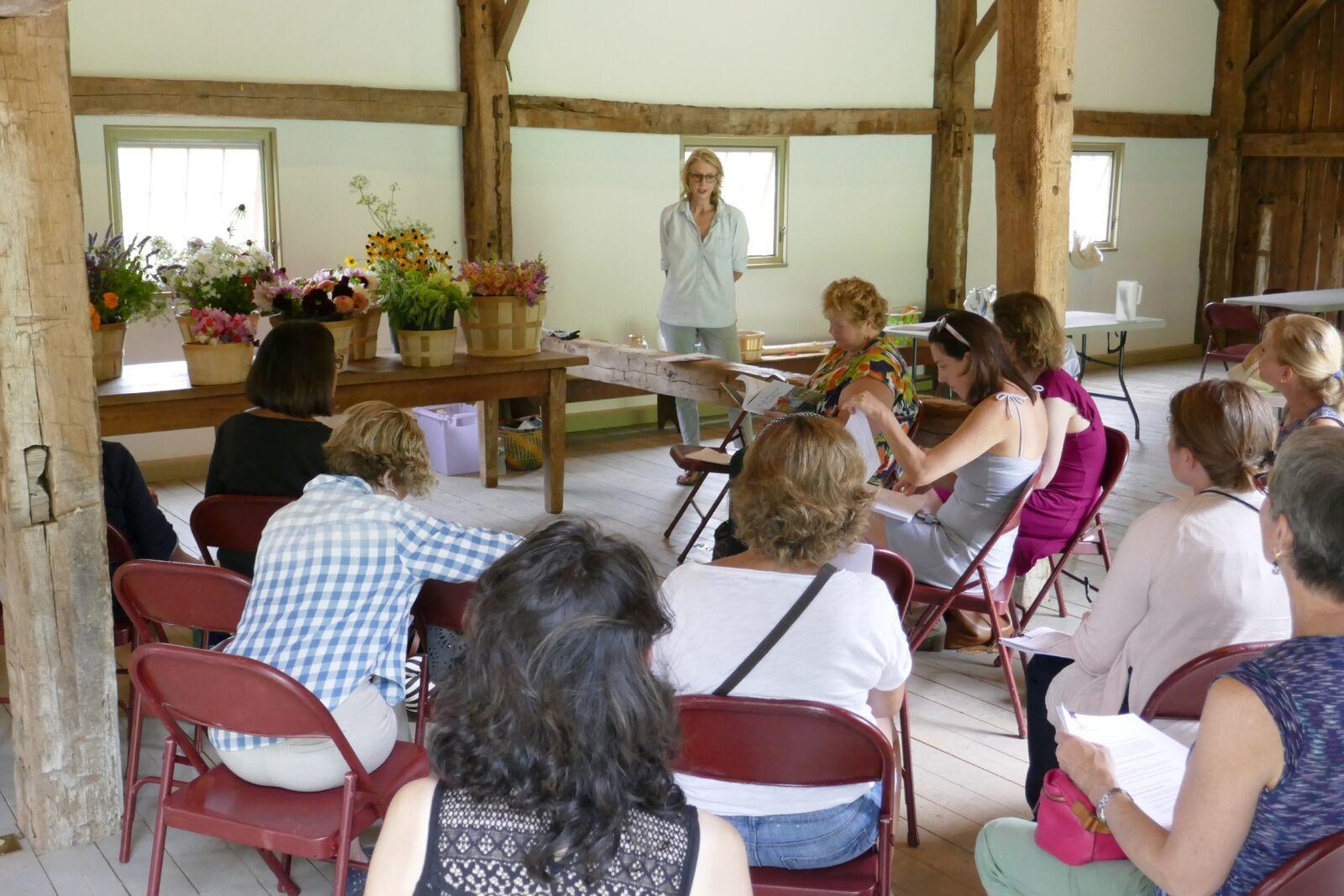 Hollister House Garden Announces New Barn Talks Series