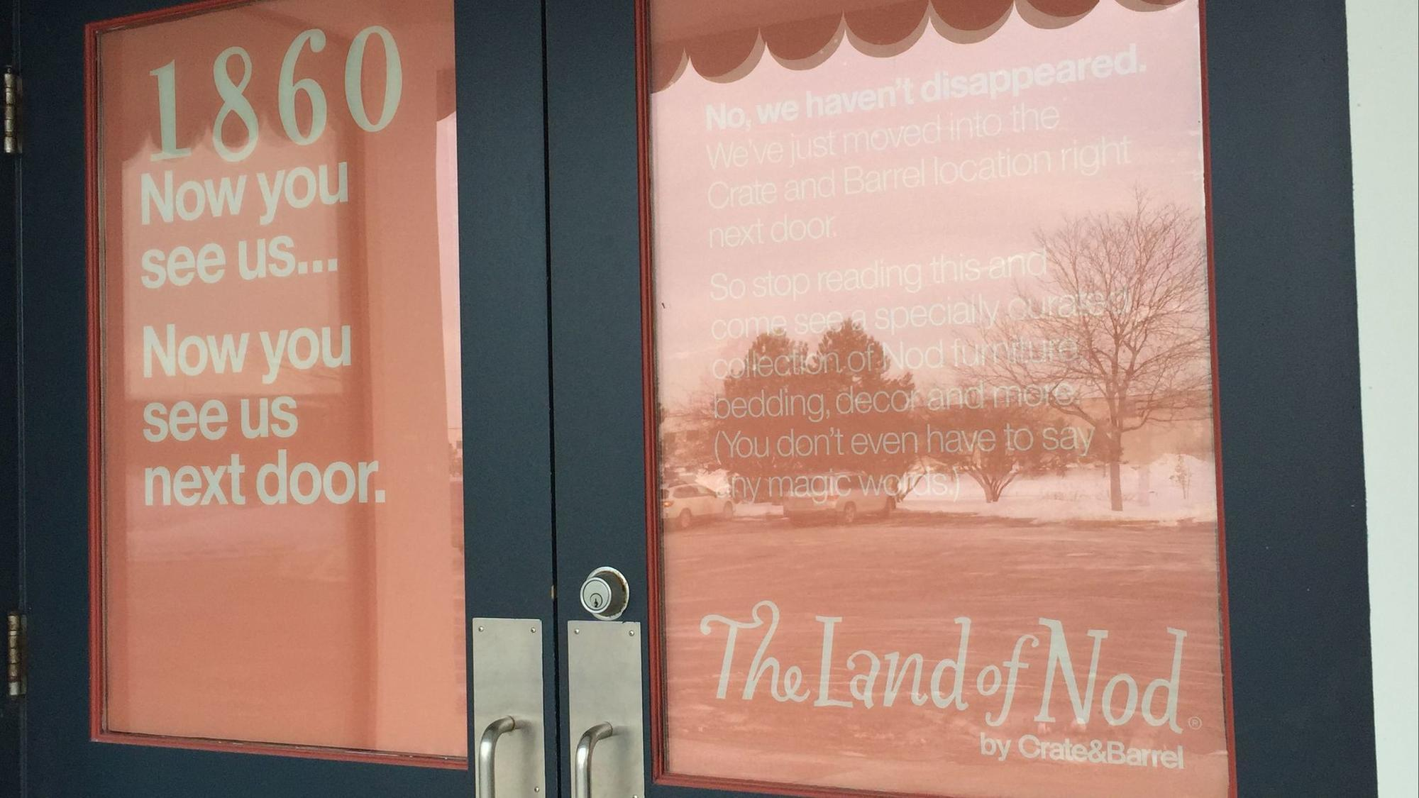 So long land of nod crate barrel to launch crate kids chicago tribune