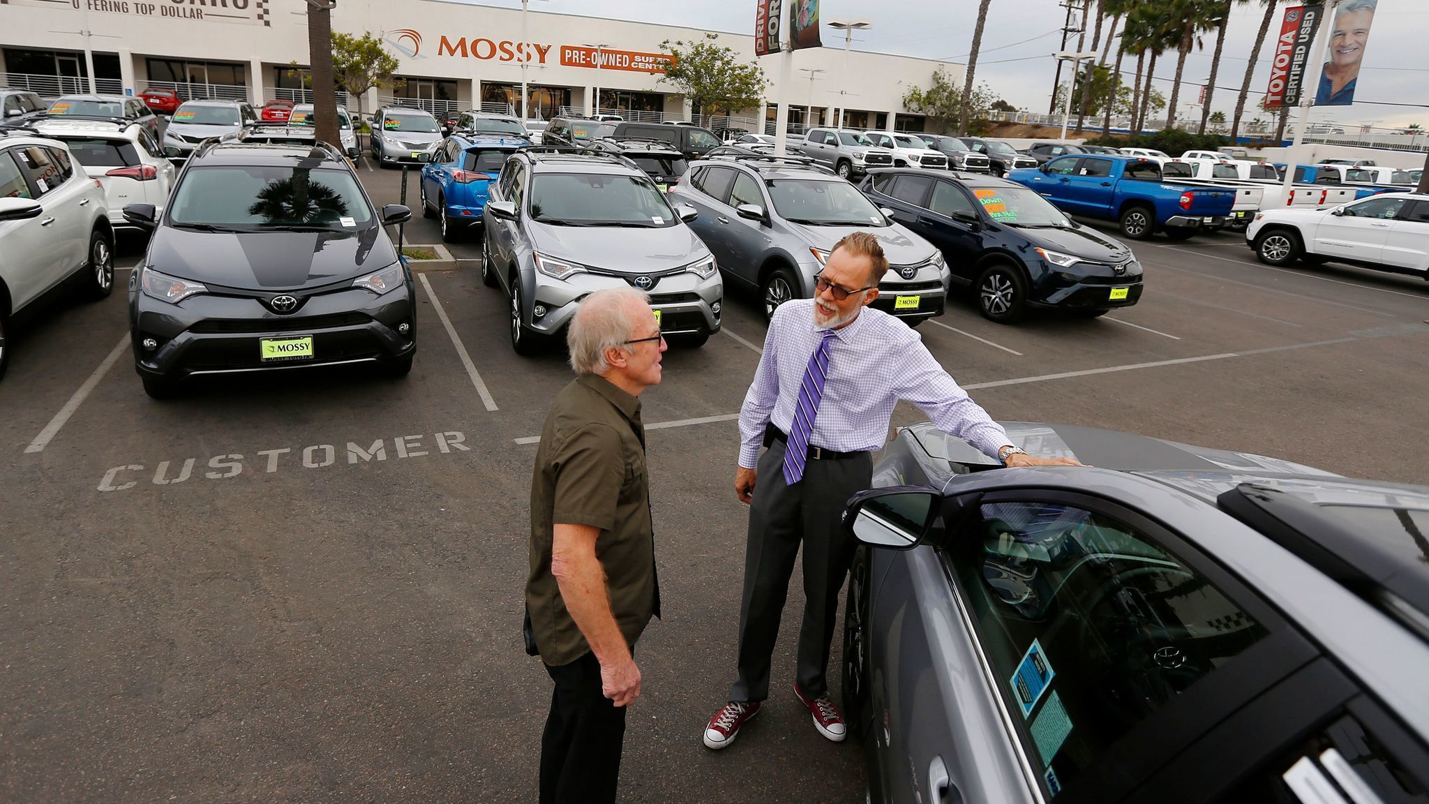 Toyota Of San Diego >> California vehicle sales exceed 2 million for third ...