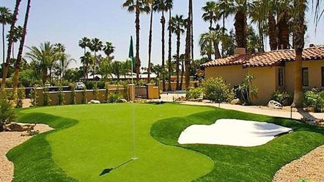 Desert Oasis At The Hub Of Old Hollywood Social Scene Is