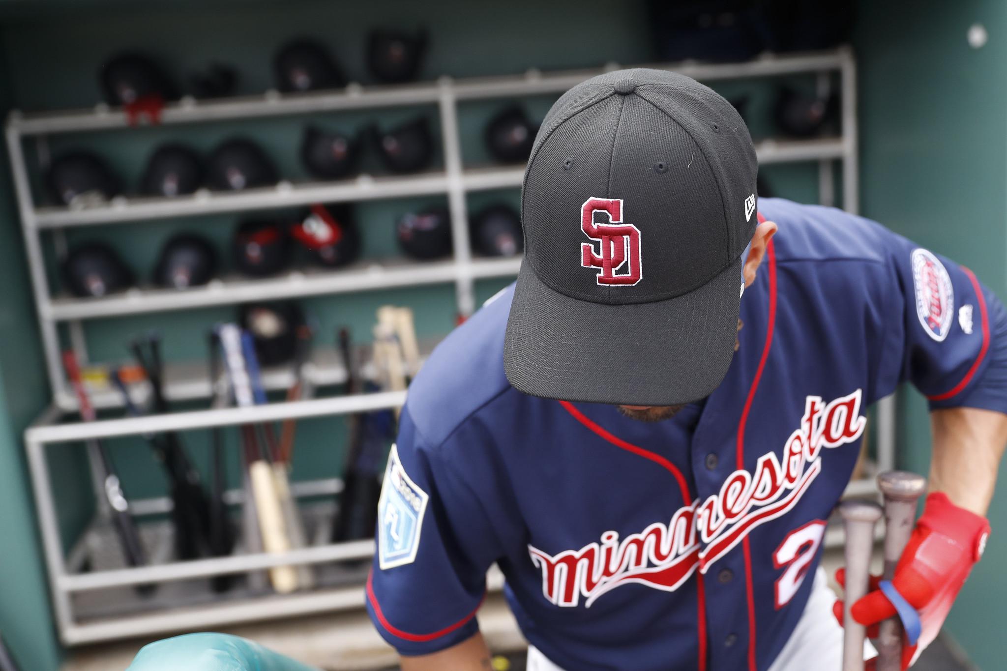 MLB stars wear Stoneman Douglas hats at spring training  a765df5dee3