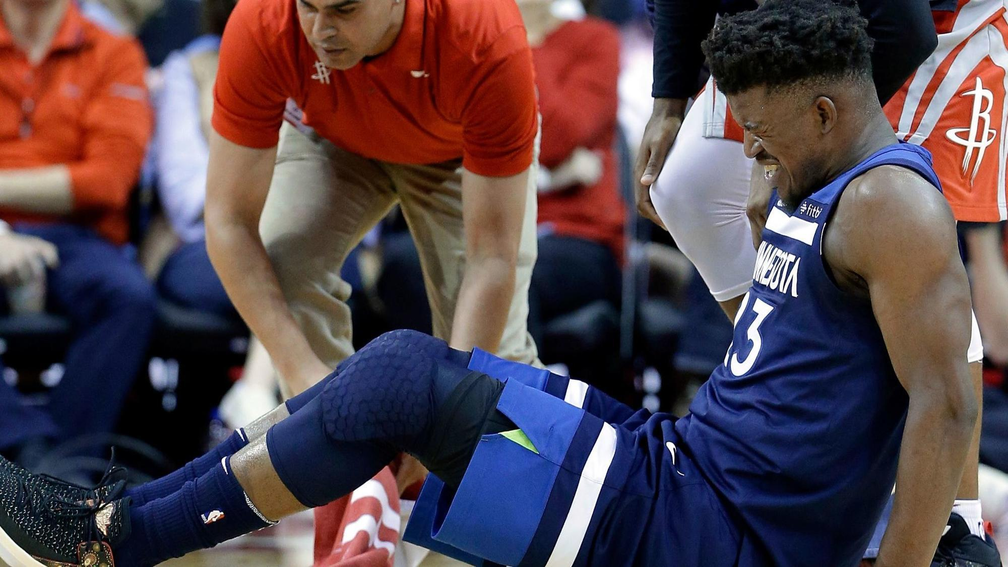 71e4b07d4cdc Jimmy Butler s knee injury eerily familiar to Timberwolves coach Tom  Thibodeau