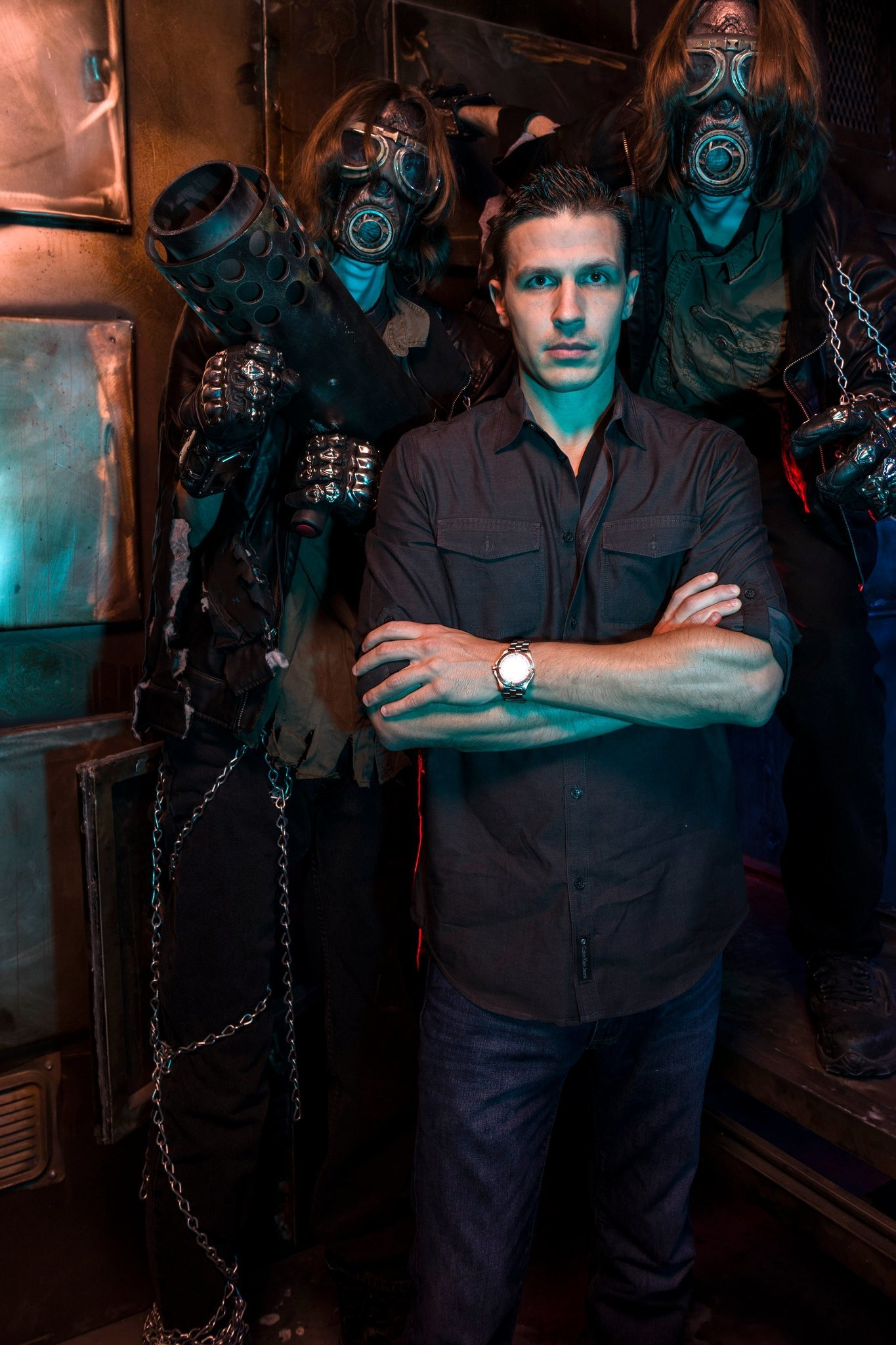Escape Room Based On Saw Horror Films Opens In Las Vegas