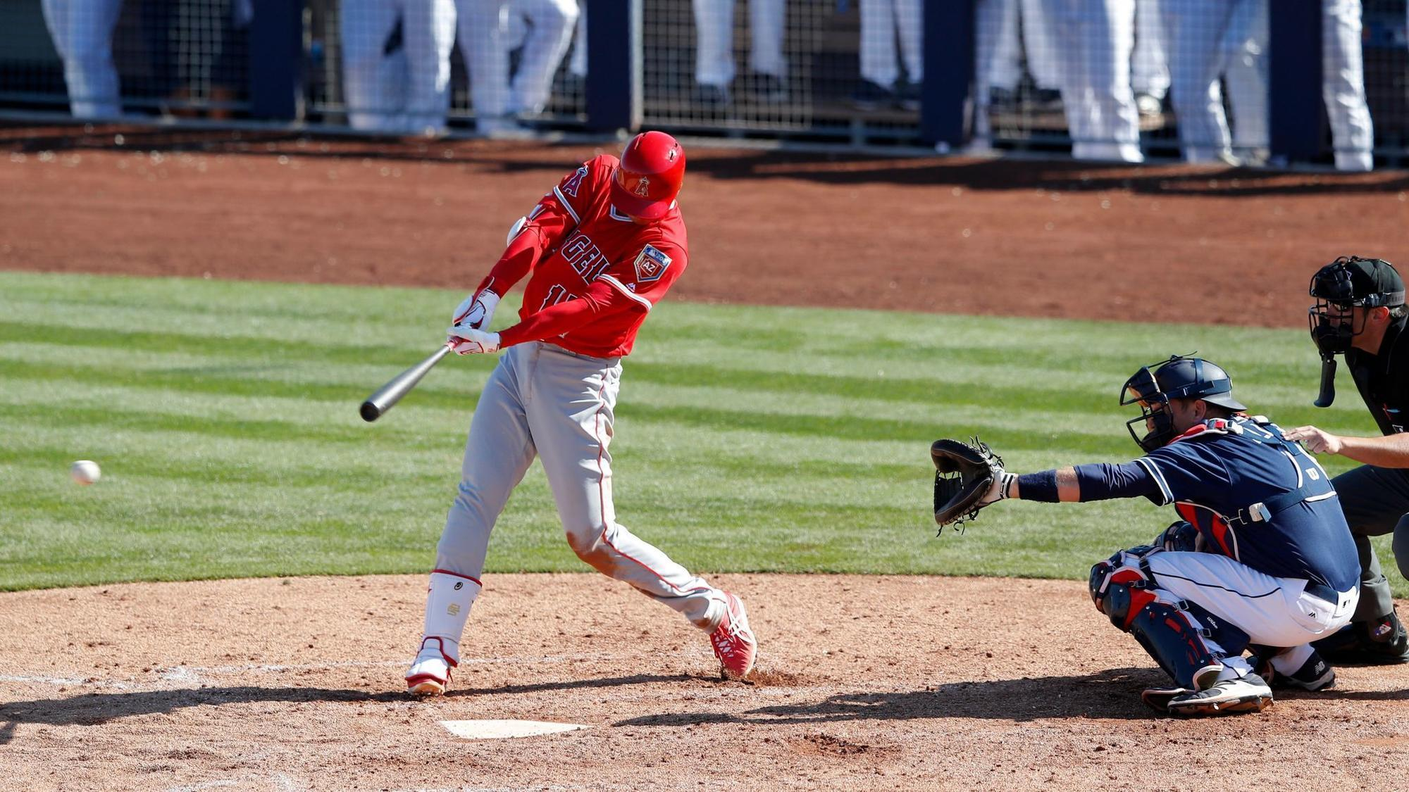 Shohei Ohtani is back in the Angels' lineup Tuesday ...