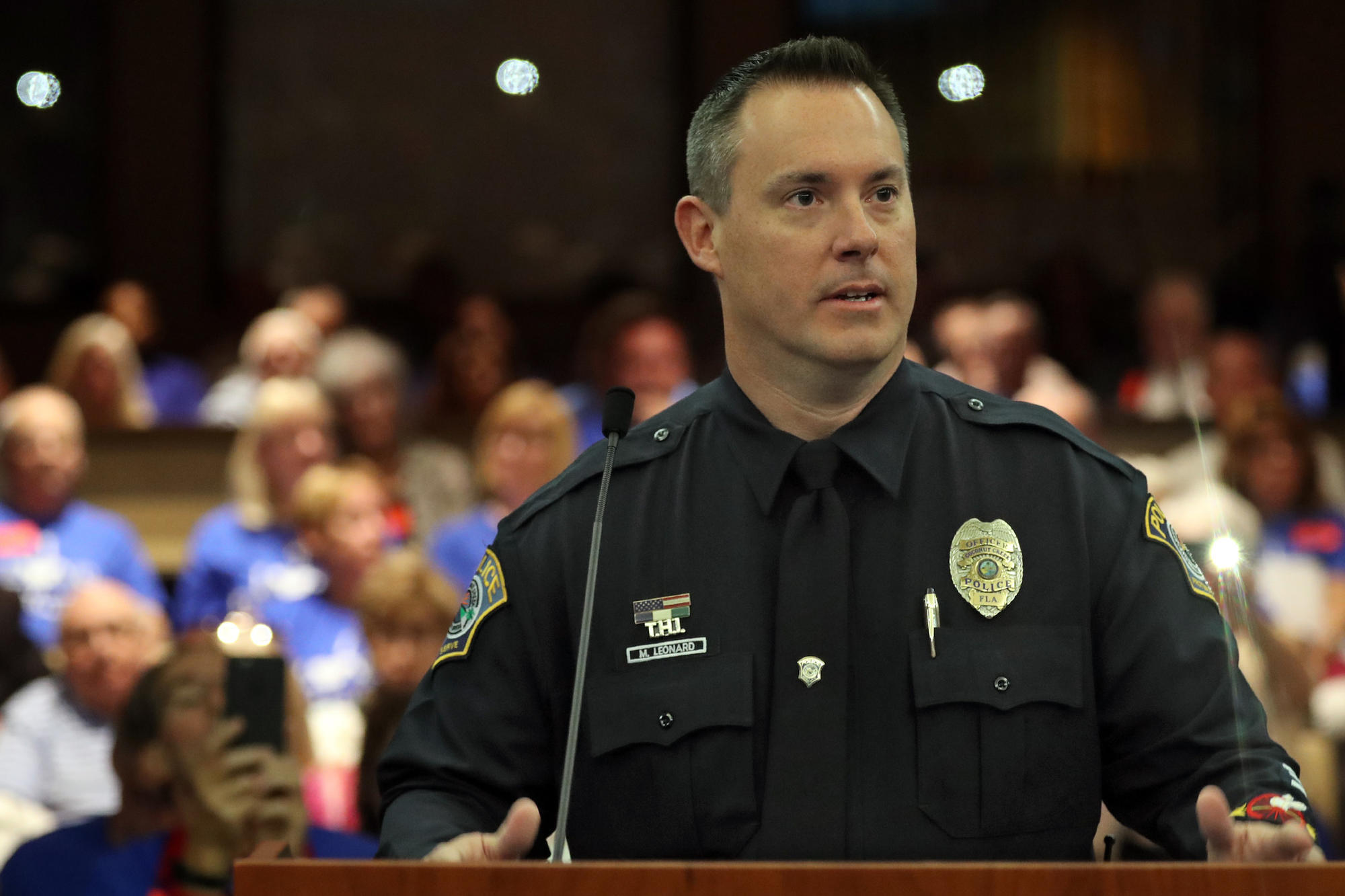 'It's not about me,' says officer who caught Stoneman ...