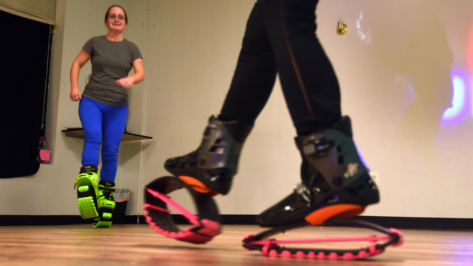 At Abingdon s MWFitness, Kangoo Jumps takes workouts to new heights -  Baltimore Sun 9caa8ffc4f3