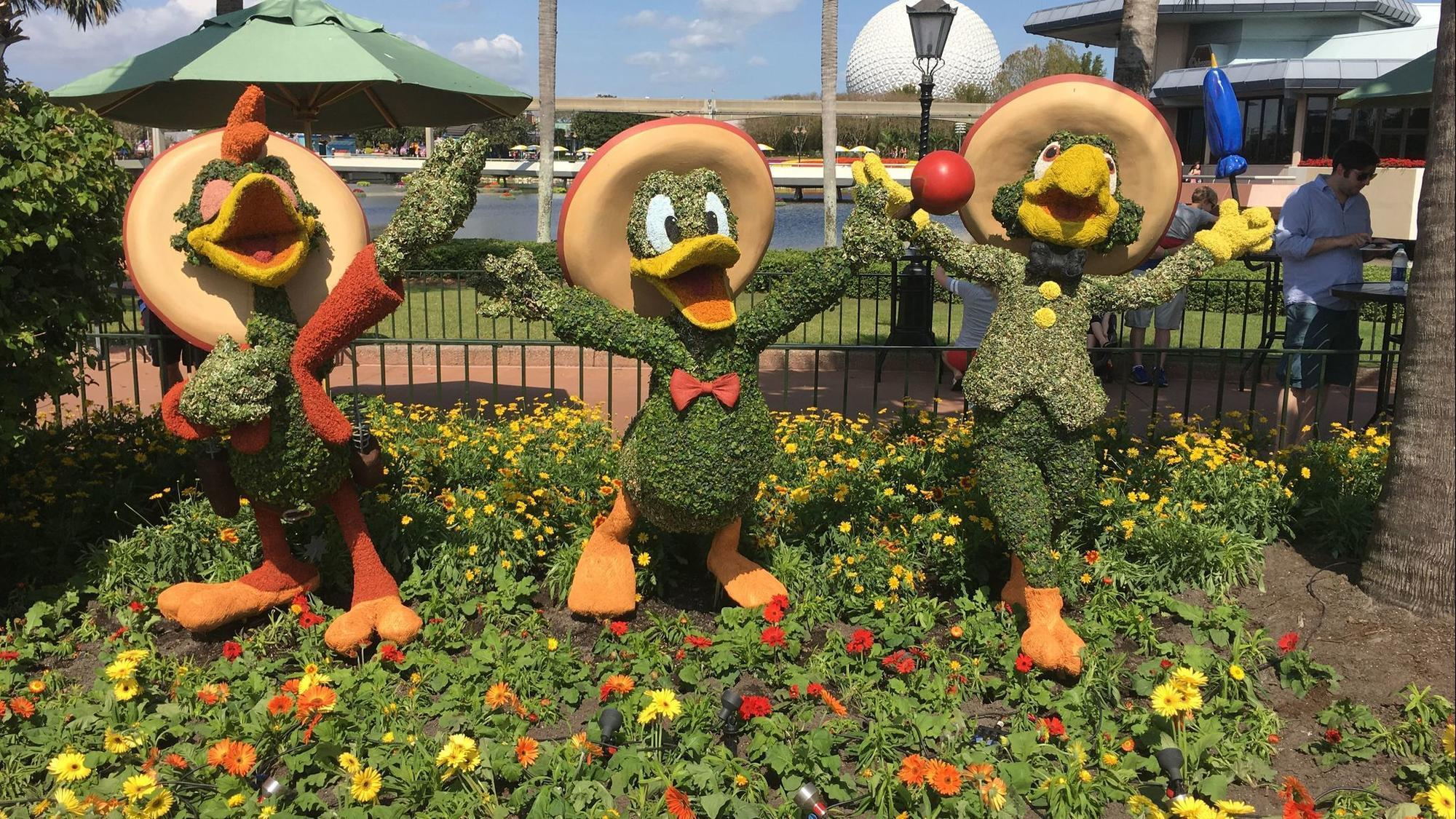 First Look Epcot International Flower Garden Festival For 2018 Polygo Minie Mouse By Sentinel Orlando