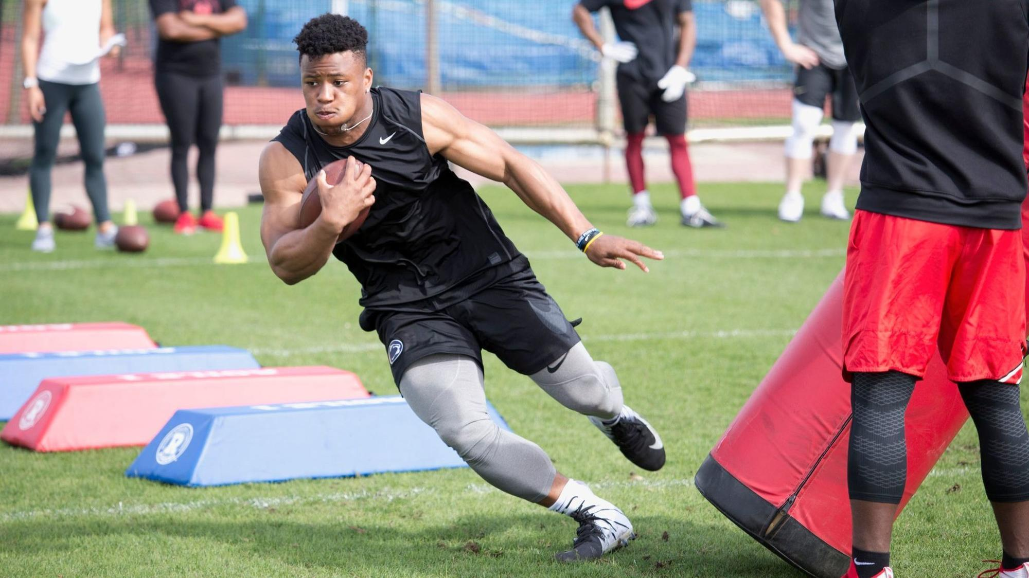 What does Saquon Barkley have to prove at the NFL Scouting Combine  - The  Morning Call 1c11094c9