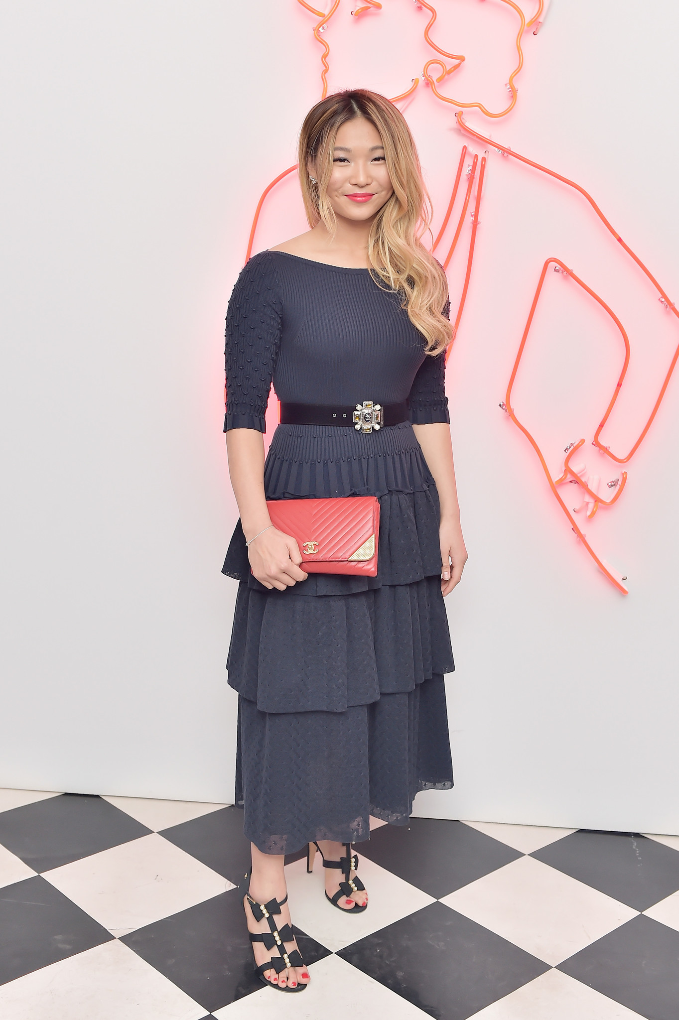 5029aaec3f9 Emma McIntyre   Getty Images Chanel Party to Celebrate the Chanel Beauty  House and  WELOVECOCO