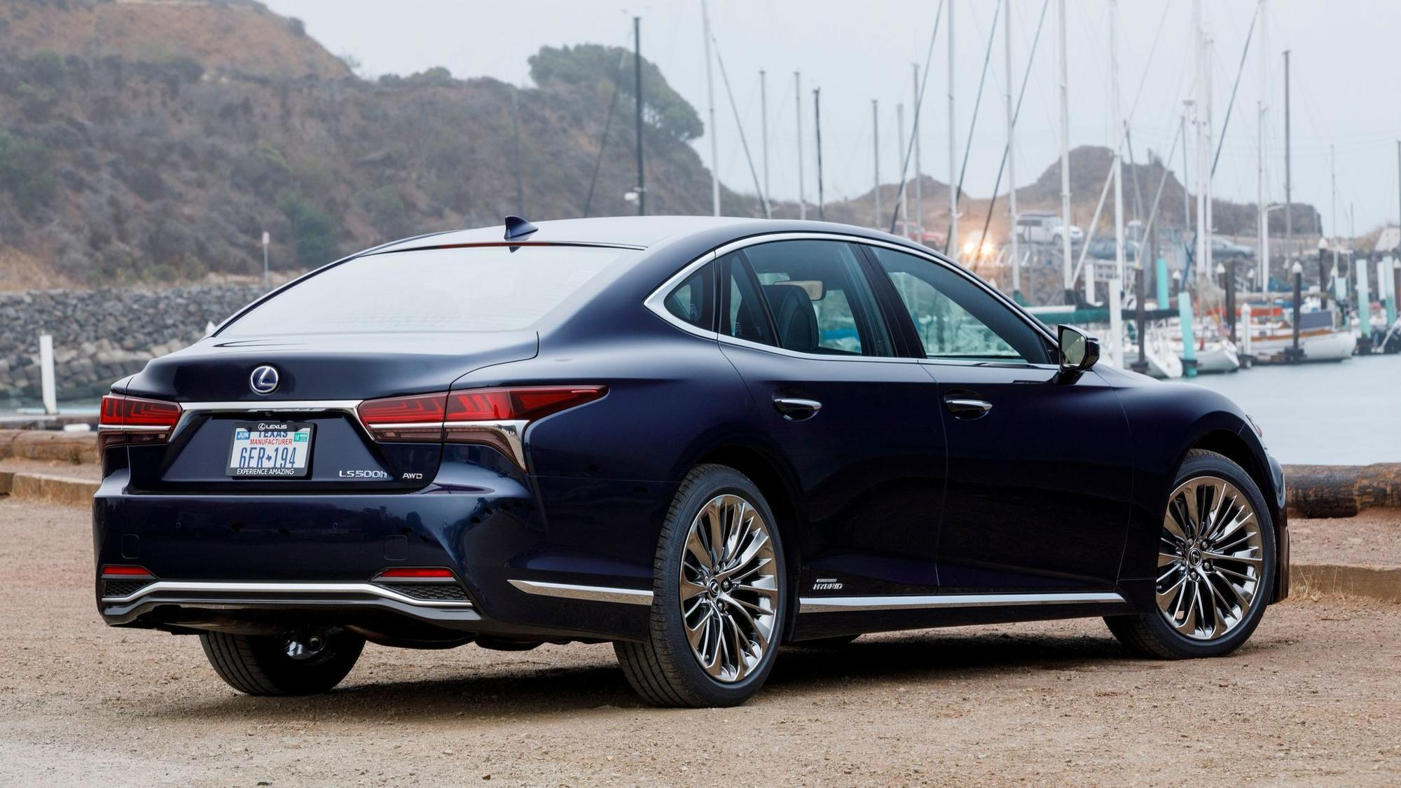 2018 lexus ls 500h from flagship to starship the san. Black Bedroom Furniture Sets. Home Design Ideas