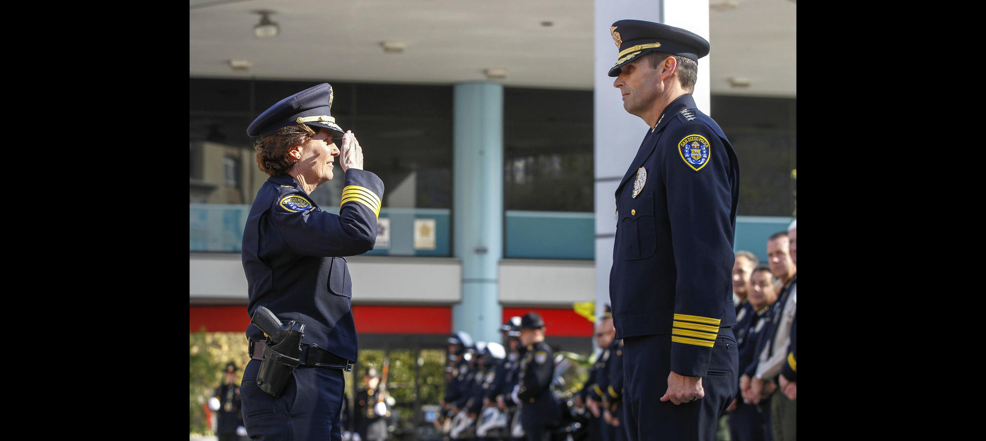 SDPD change of command ceremony