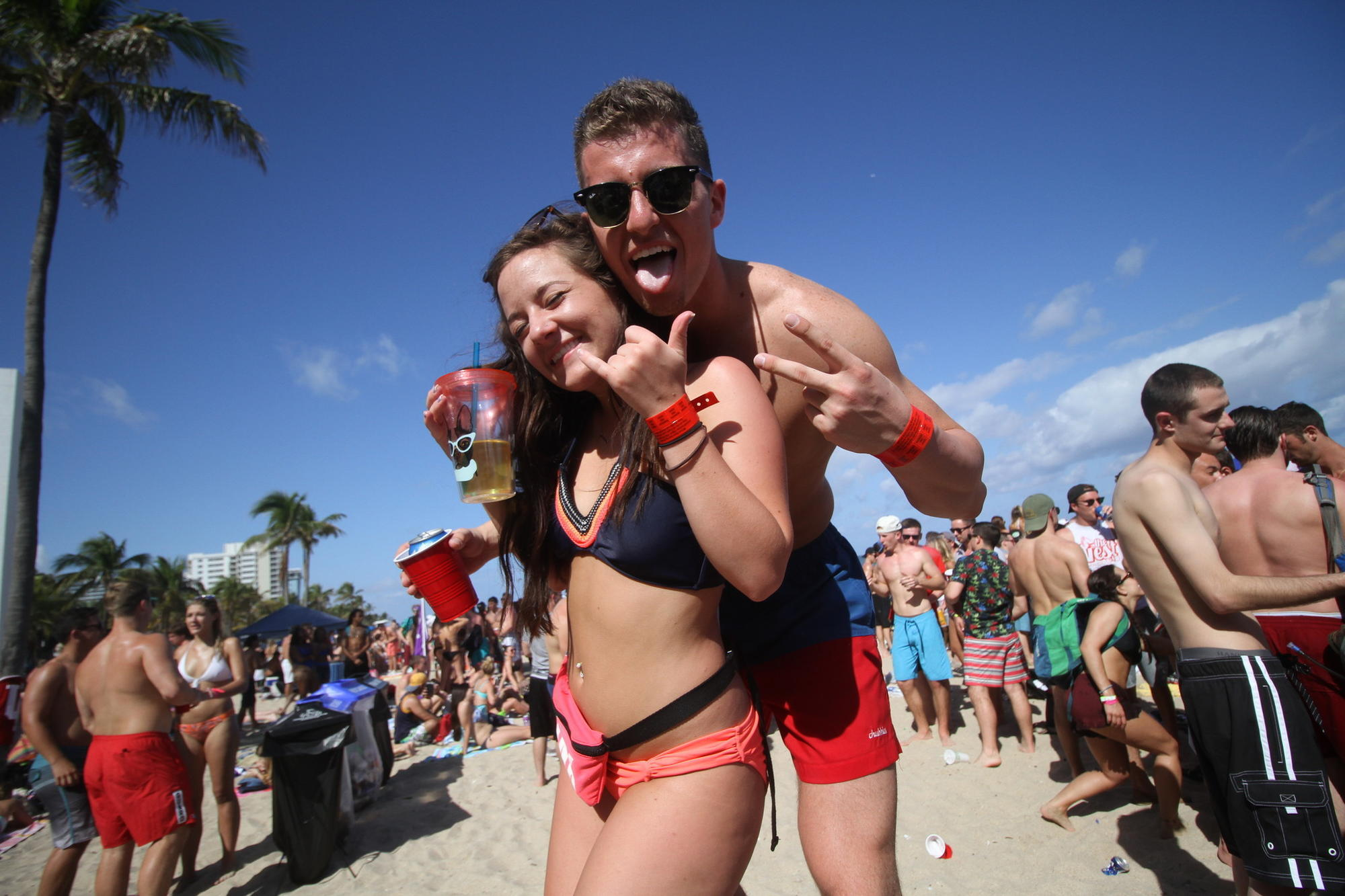 Fort Lauderdale Readies For Spring Break Invasion Of
