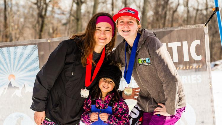 Kaitlyn Blizzard, fellow snowboarder Nicolle Zanoline