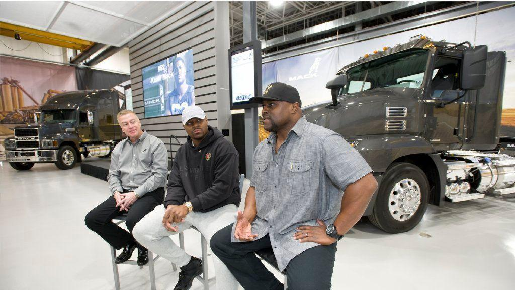 5 Questions With Khalil Mack His Father On Mack Trucks Partnership Lehigh Valley Business Cycle