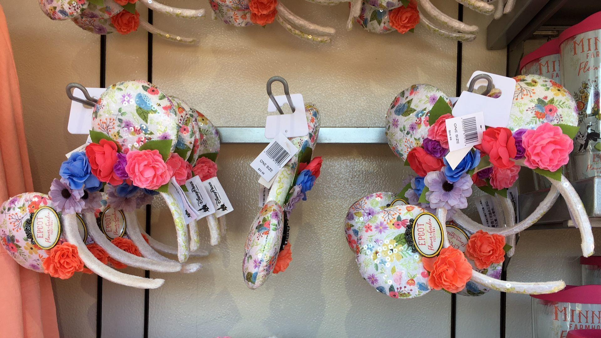 Flowery Ears Popping Up At Disney Parks Orlando Sentinel
