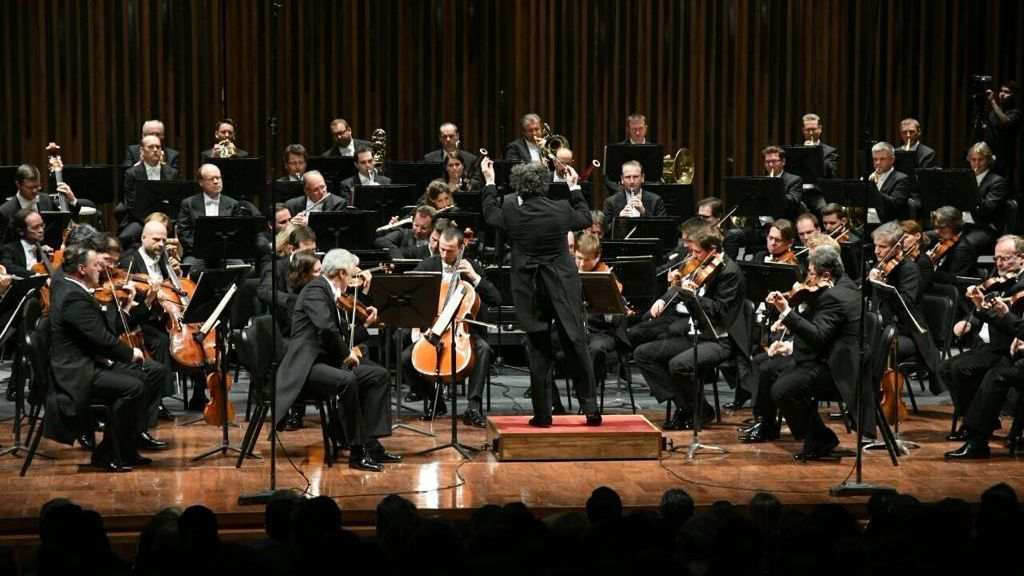 Gustavo Dudamel with the Vienna Philharmonic in Mexico City