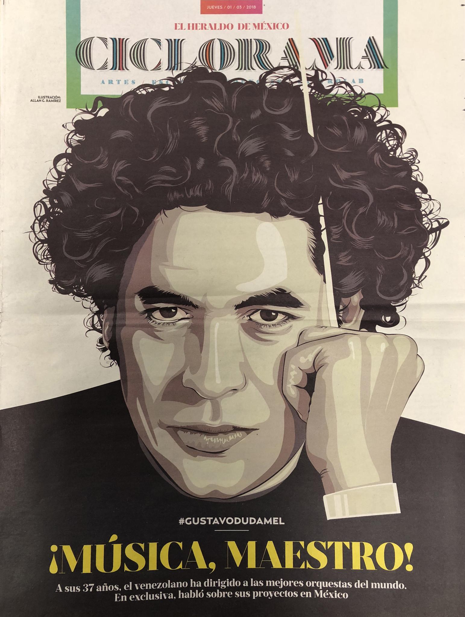 Gustavo Dudamel in Mexico City