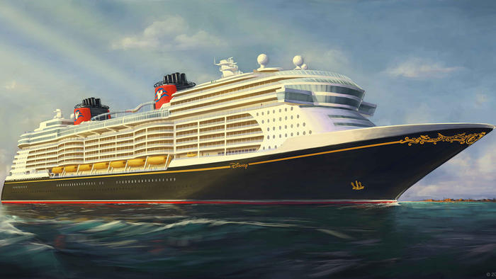 Rendering for new Disney Cruise Line ships