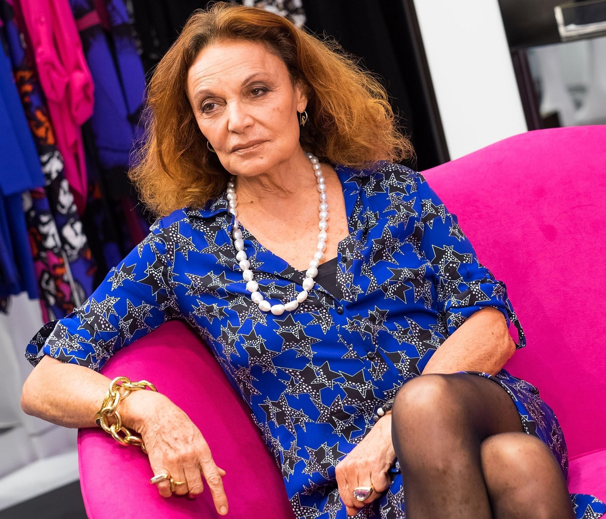 Diane von Furstenberg Signs Copies of Her New Book,