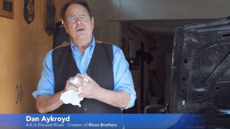 dan aykroyd takes shot at cook county assessor berrios in 39 blues brothers 39 themed ad for chris. Black Bedroom Furniture Sets. Home Design Ideas