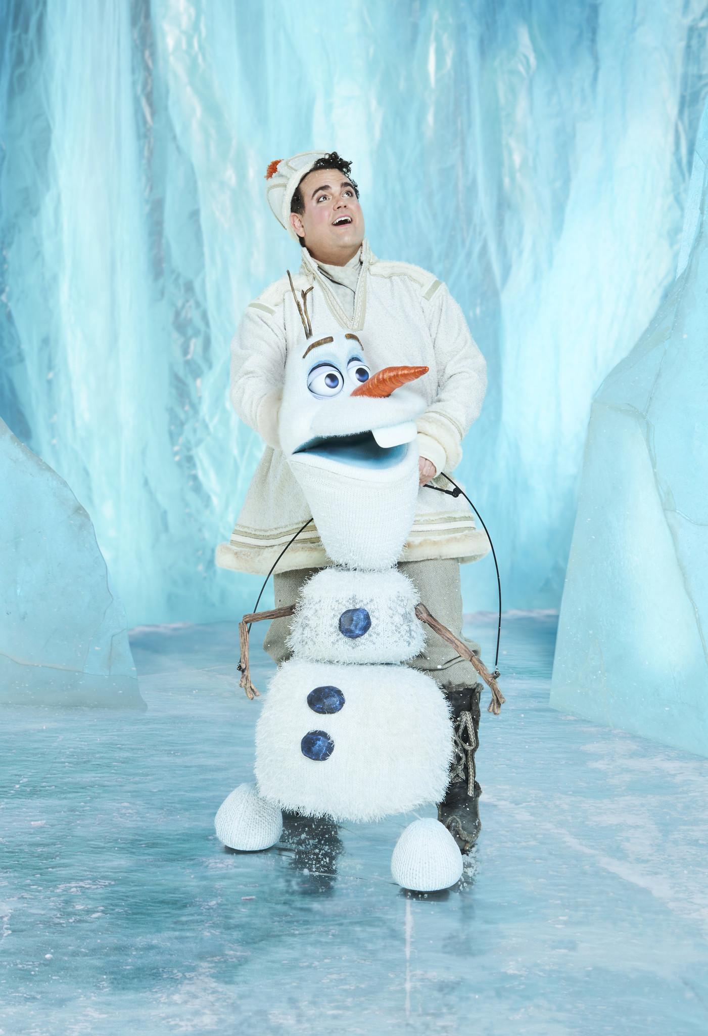 Greg Hildreth as Olaf in