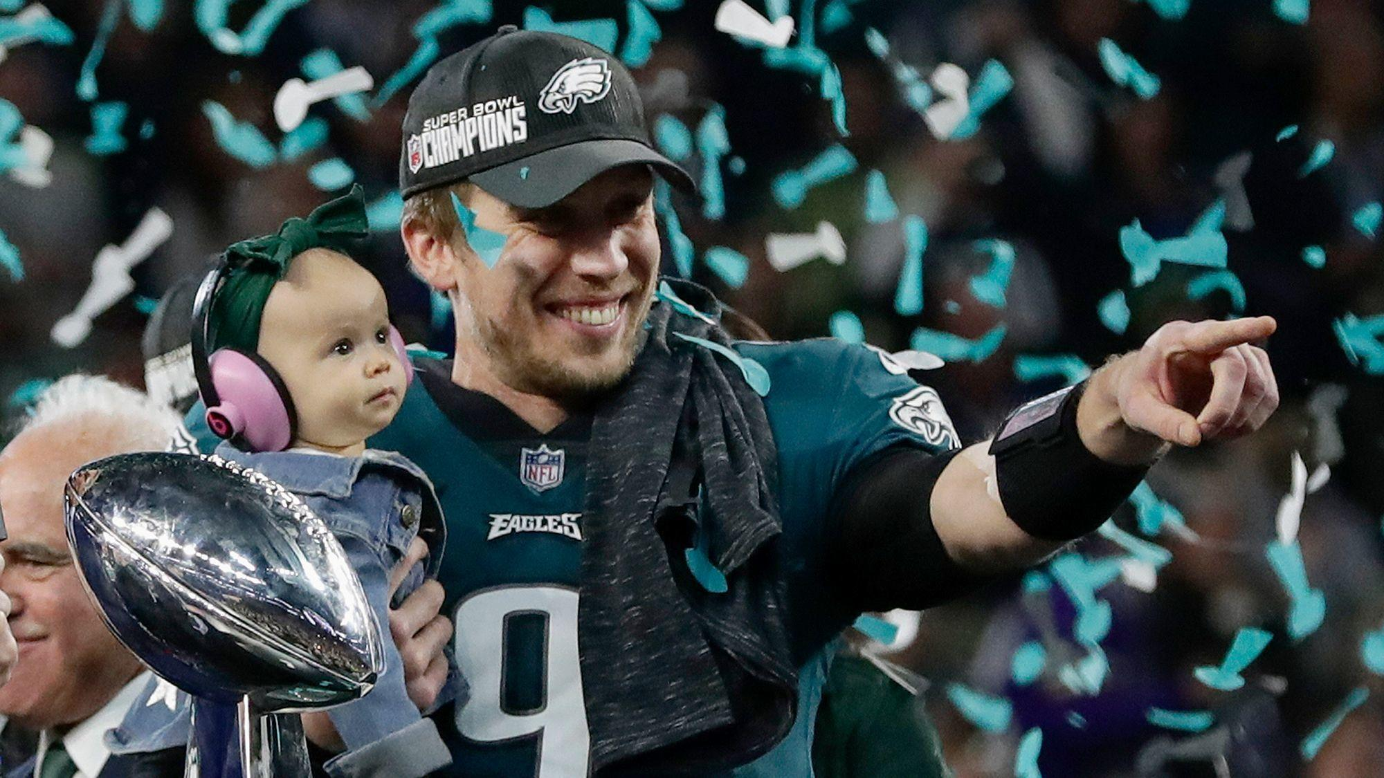Super Bowl MVP Nick Foles fell into Under Armour s lap. What will it do  with him now  - Baltimore Sun 4a4eddf1e
