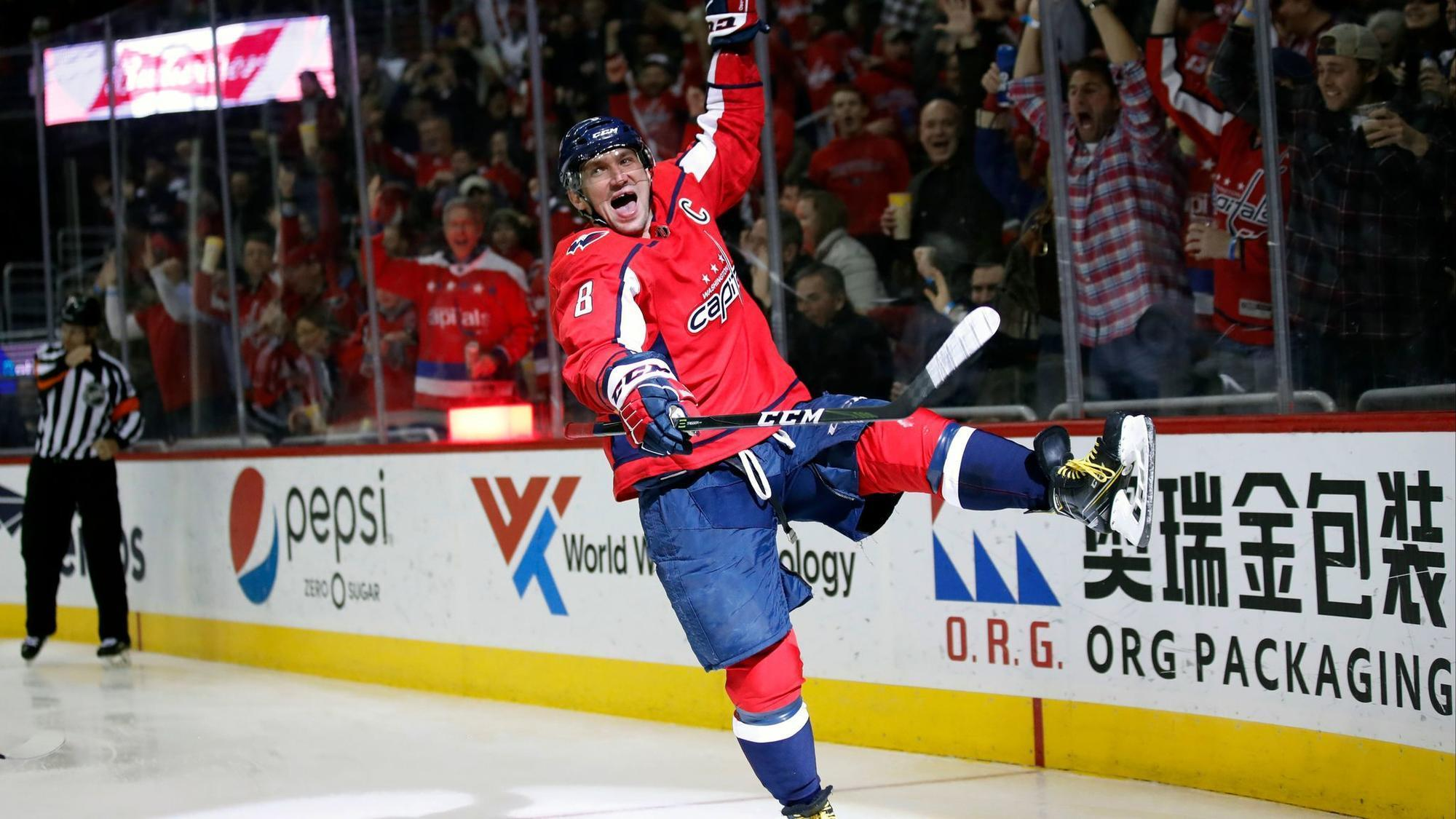 8927fe8c4f5 Alex Ovechkin joins NHL s exclusive 600-goal club - Chicago Tribune