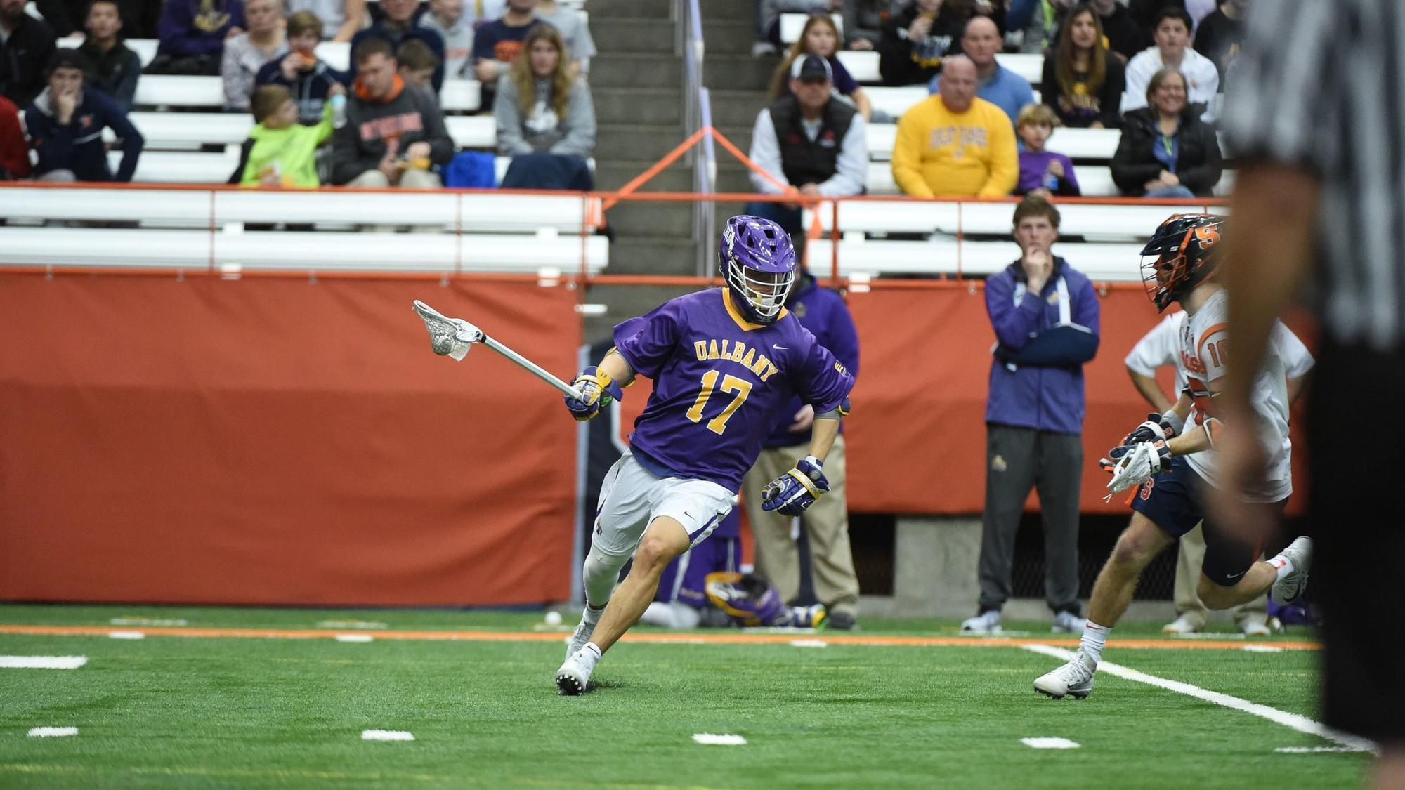 Five questions with Albany men's lacrosse player Jakob