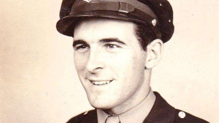 George P Korb B 17 Navigator In Wwii And Pow Who Later