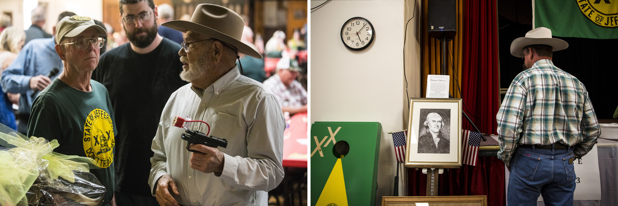 In California's rural, conservative north, there are big