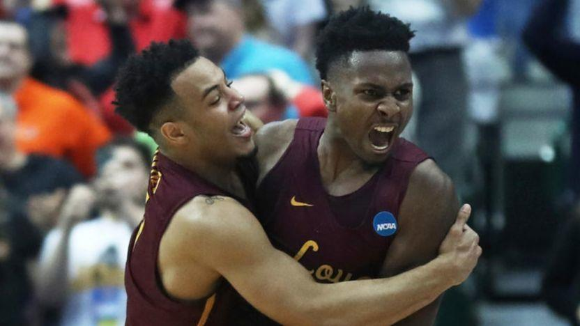 852e8a2e6d43 A shot and a prayer  Donte Ingram s last-second game-winner gives Loyola  its March moment
