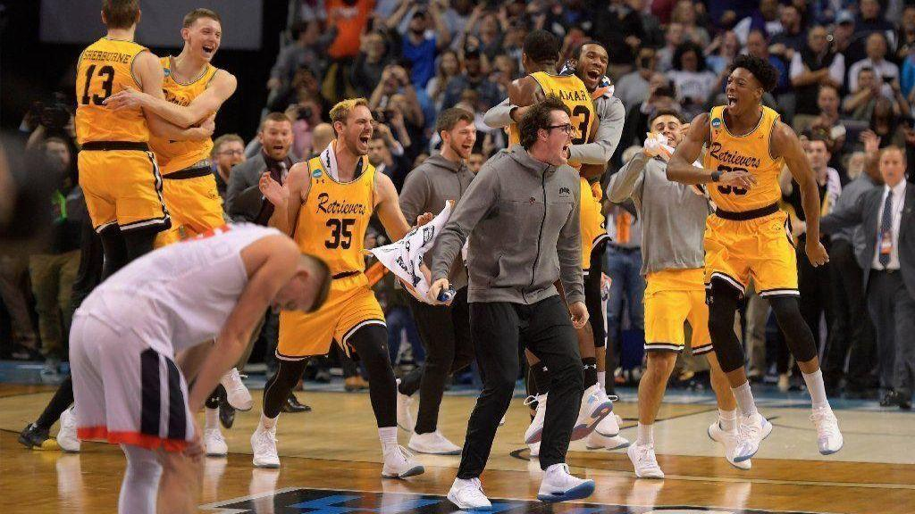 dec10c1f2fa8 Never been done  No. 16 seed UMBC topples No. 1 Virginia in historic ...