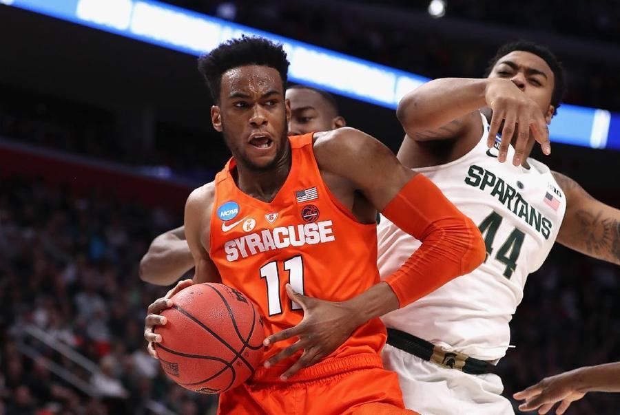 Syracuse Plays Spoiler, Beats Michigan State 55-53