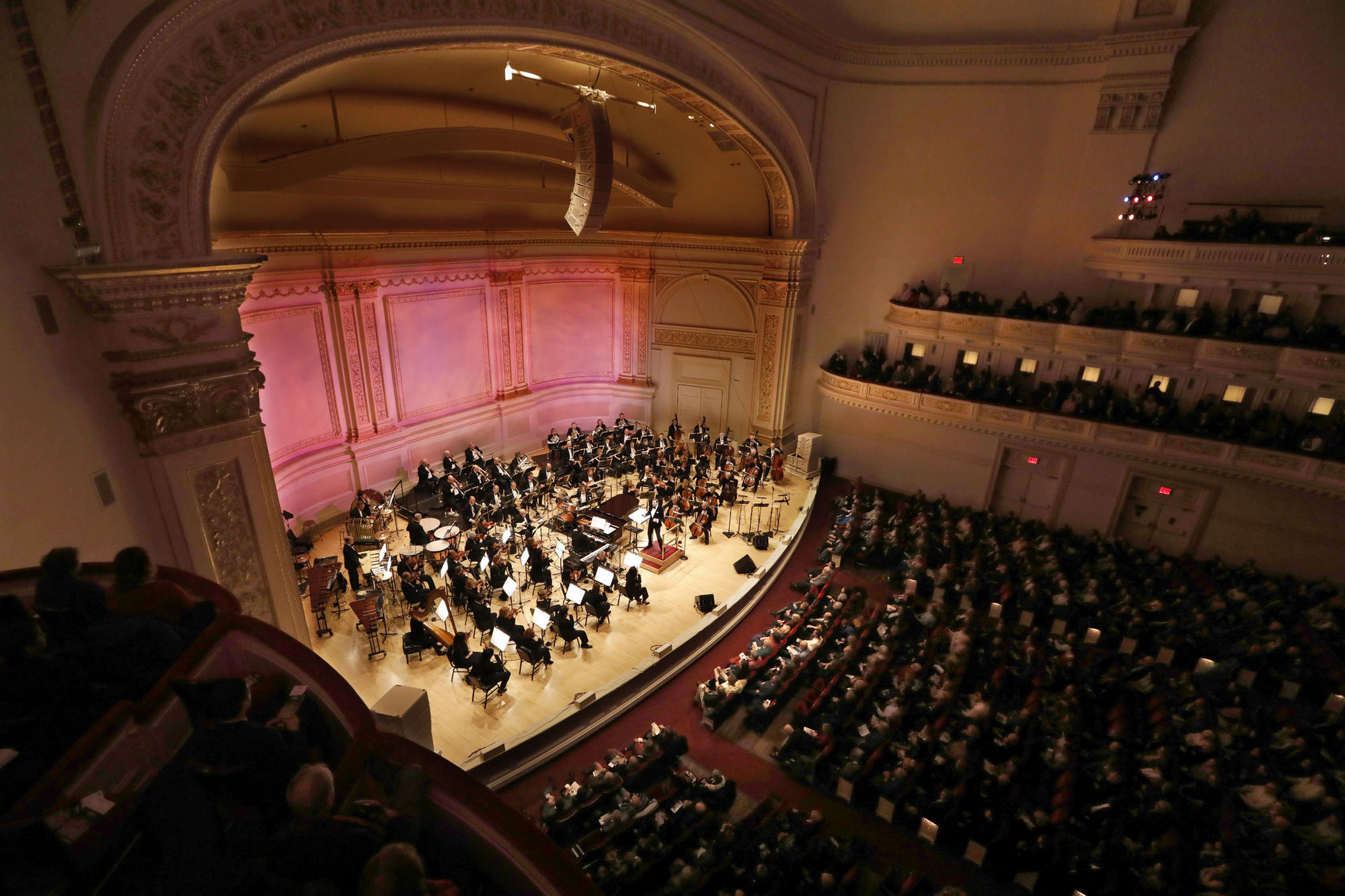 Carnegie Hall stage
