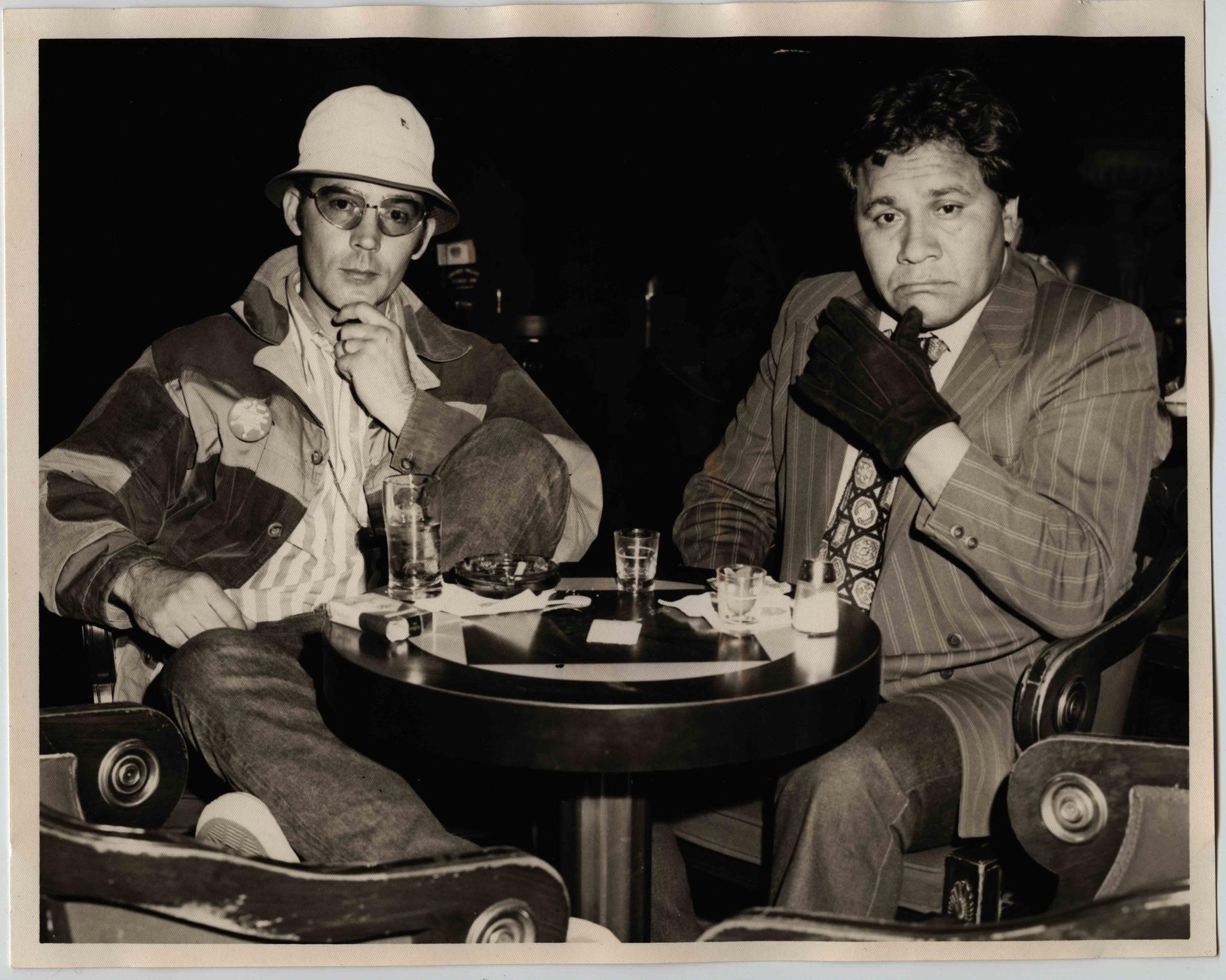 Oscar Zeta Acosta with Hunter S. Thompson