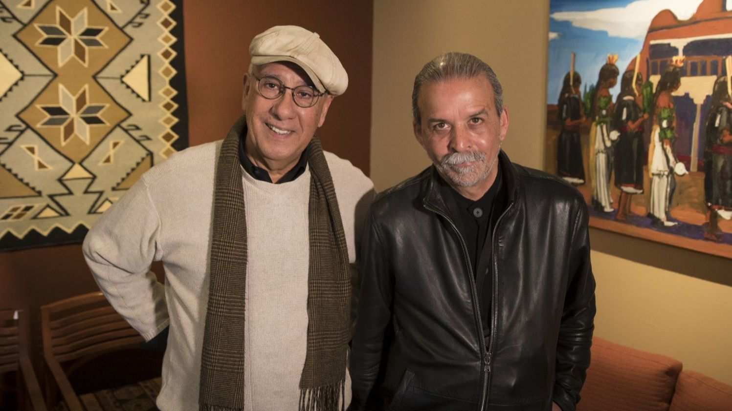 Luis Garza and Harry Gamboa Jr.