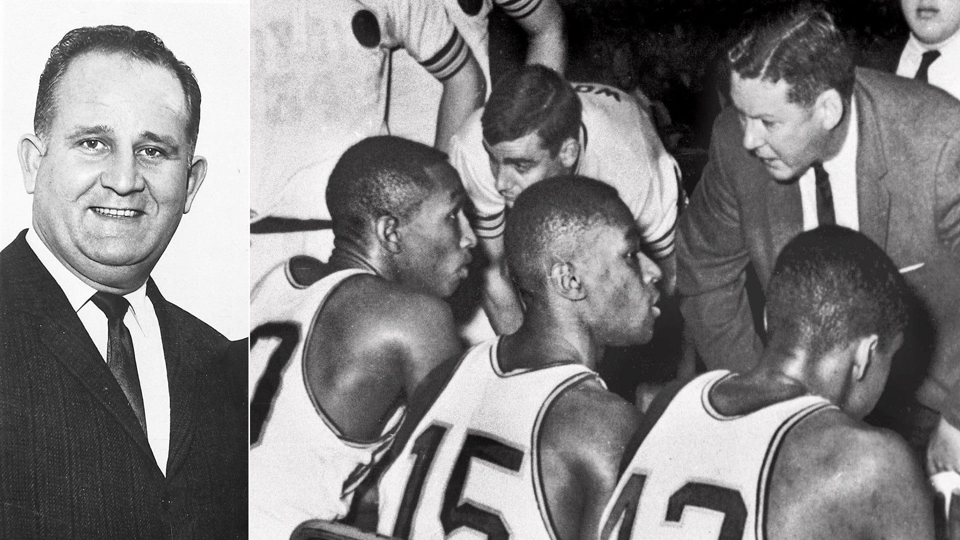 Red Rush's 1963 Loyola NCAA title call remembered: 'We won! We won! We  won!' - Chicago Tribune