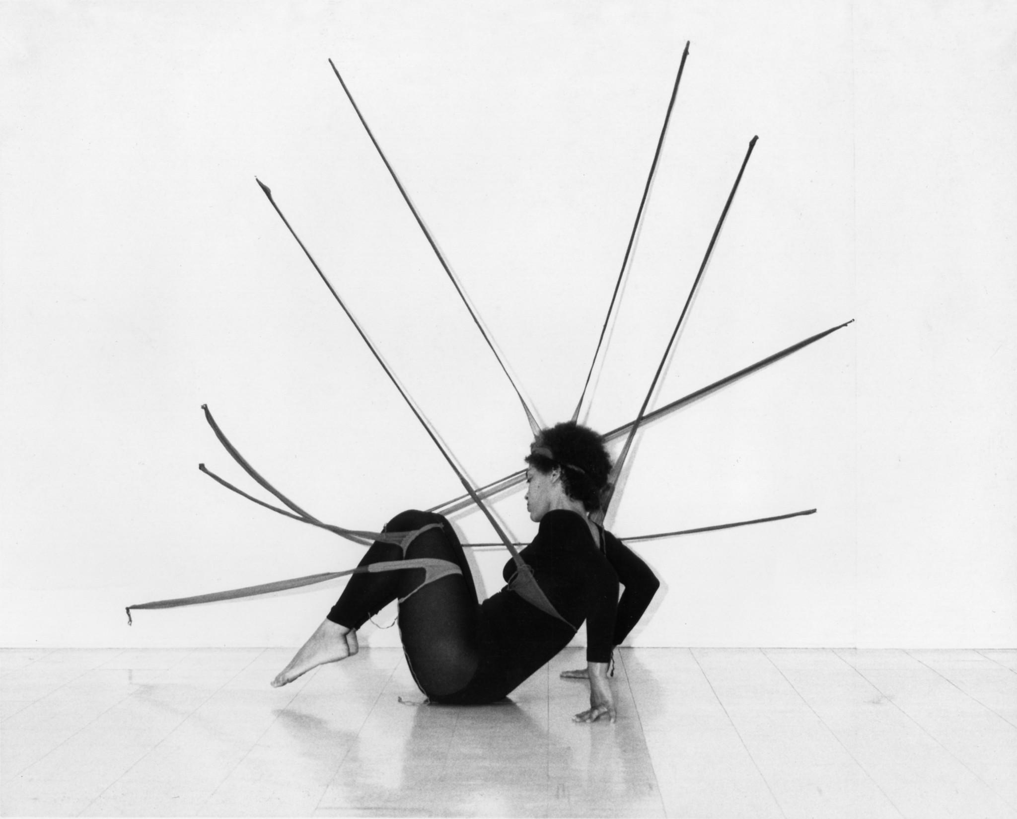 """Head Back and High: Senga Nengudi, Performance Objects (1976-2015)"""