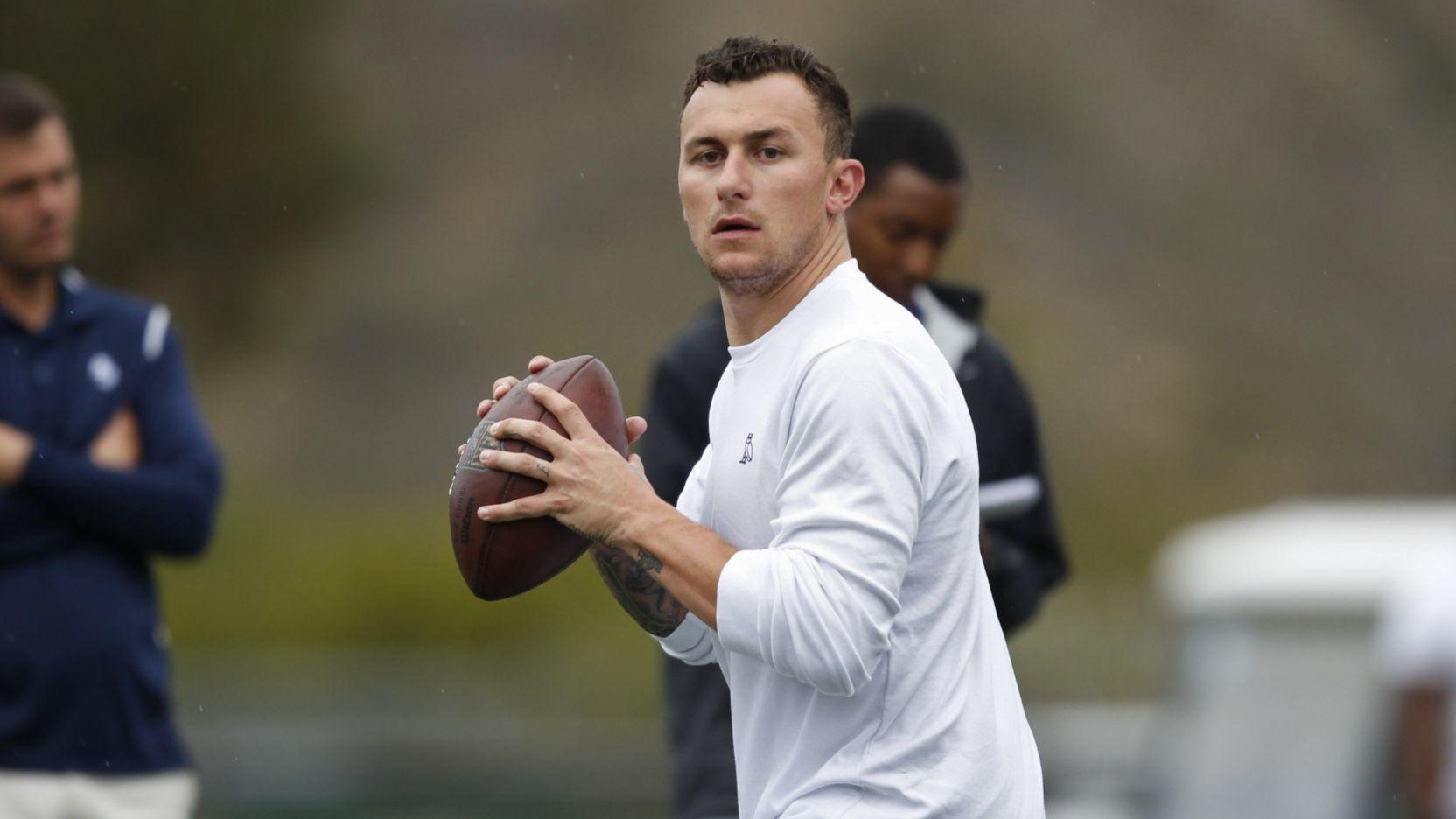 Johnny Manziel Attracts Large Nfl Turnout To Usd Pro Day