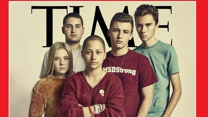 parkland students featured on cover of time magazine sun sentinel