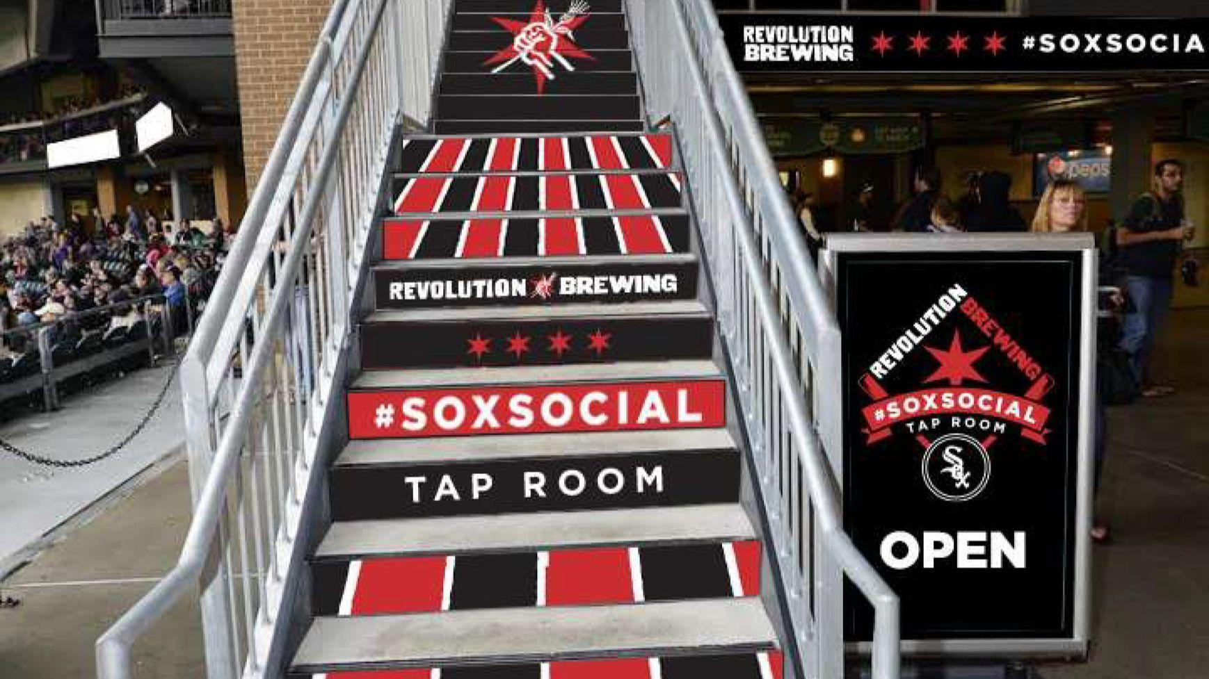White Sox And Revolution Brewing Team Up For New Bar At