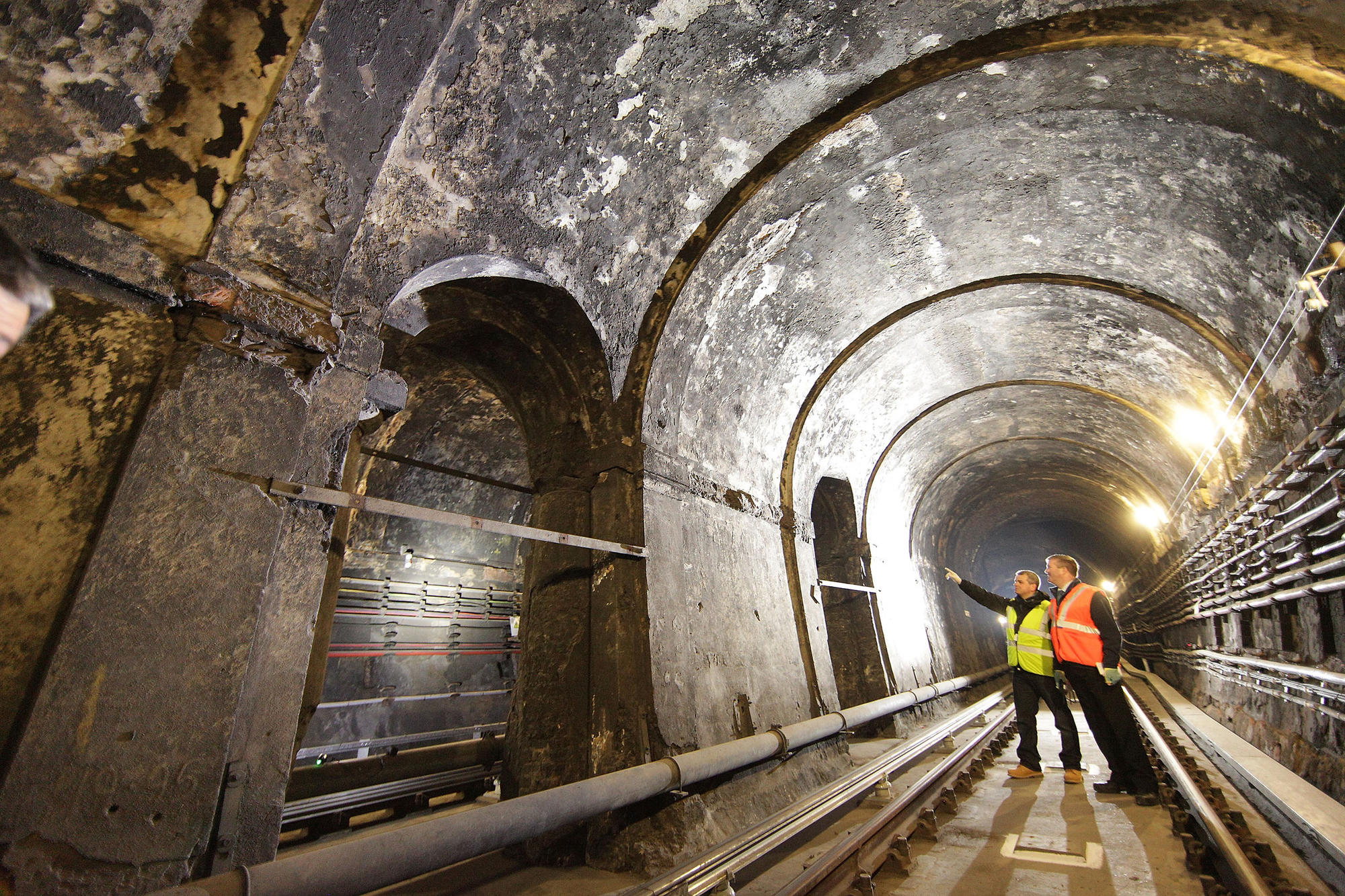 A Rare Glimpse Of London's Oldest Underwater Tunnel