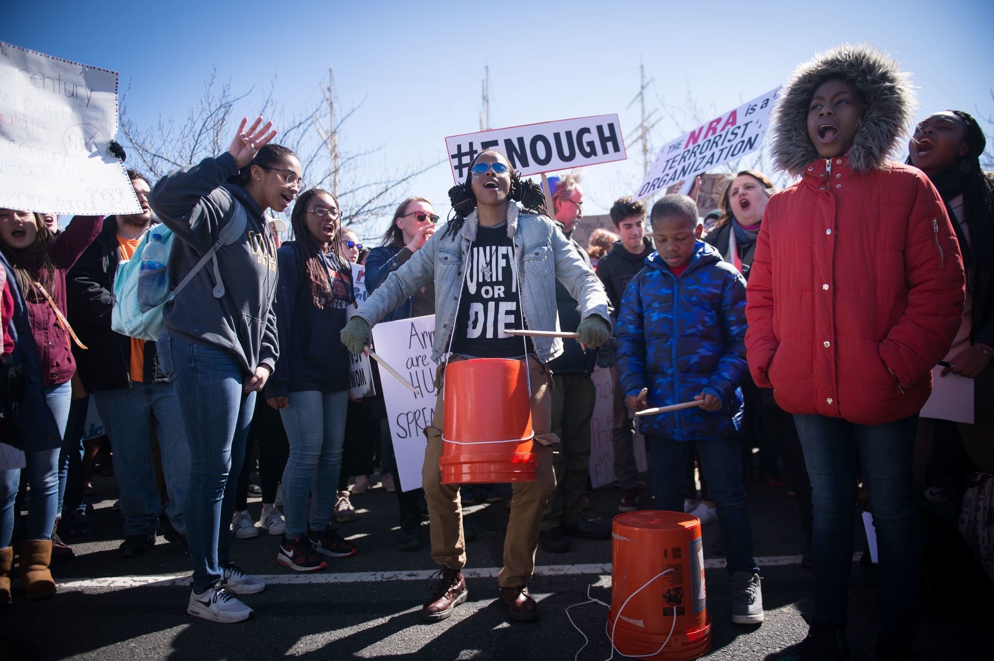 March For Our Lives in Philadelphia, USA - 24 Mar 2018