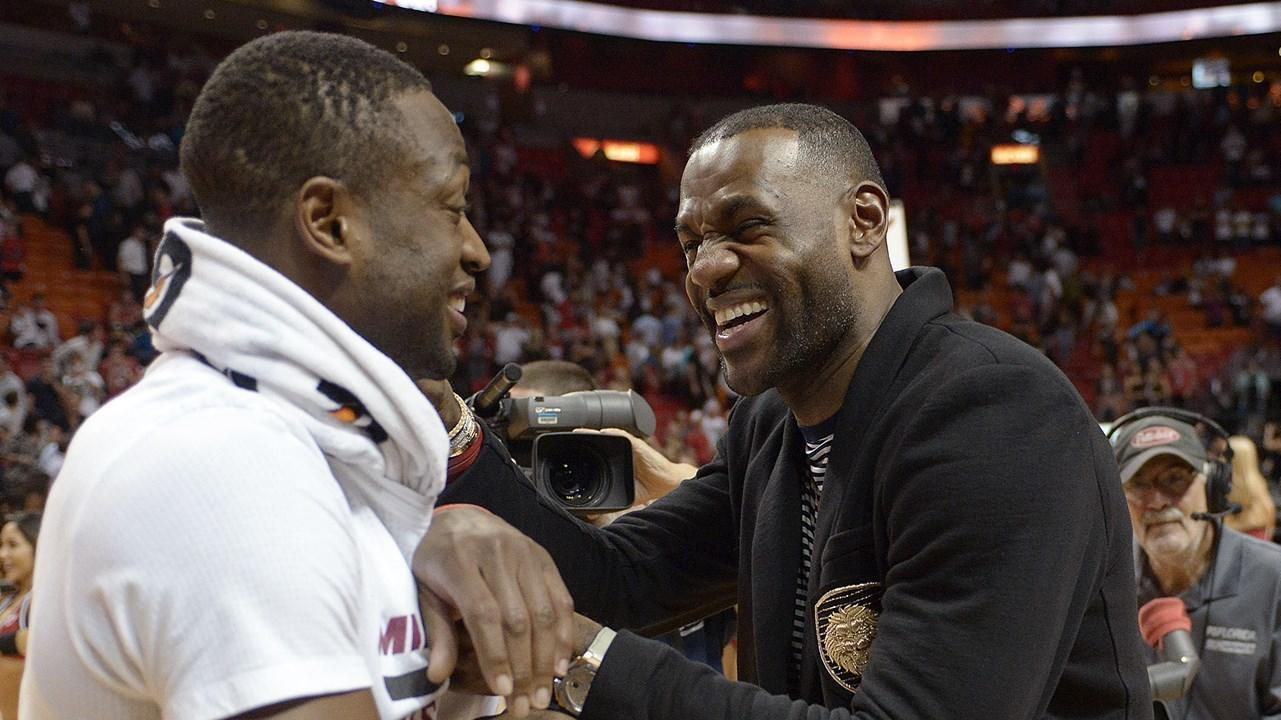 lebron and wade meet again in heaven
